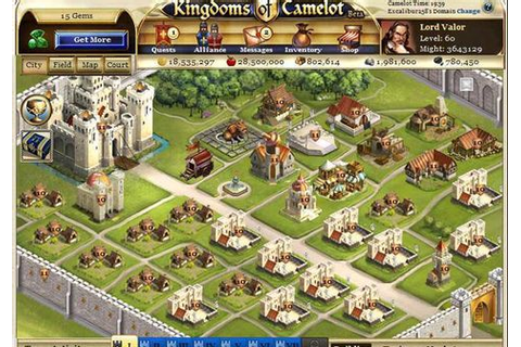 Kingdoms of Camelot on mmofacts.com