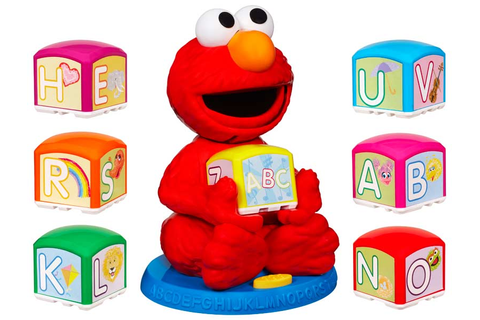 Amazon.com: Sesame Street Elmo's Find & Learn Alphabet ...
