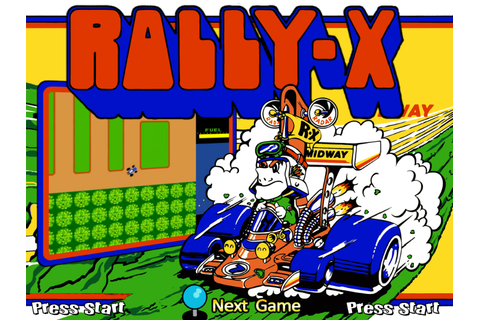 Rally-X – Creepypasta Wiki