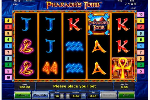 Pharaoh's Tomb - | FREE casino slots online | Play at ...
