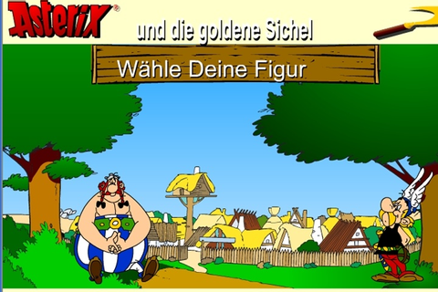 Asterix And Obelix And The Golden Sachel Game - Adventure ...