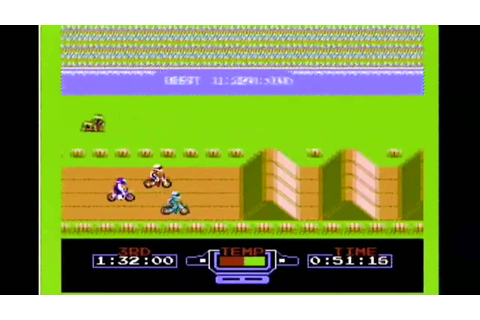 CLASSIC GAMES REVISITED - Excitebike (Nintendo NES) Review ...