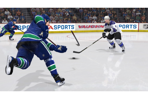 NHL 11 gets first, giant screens - VG247