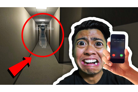 GHOST CAUGHT IN HALLWAY! | Nighttime Visitor - YouTube