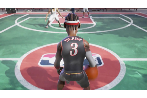 NBA Playgrounds Official Gameplay Trailer - YouTube
