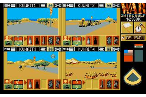 War in The Gulf Download (1993 Simulation Game)