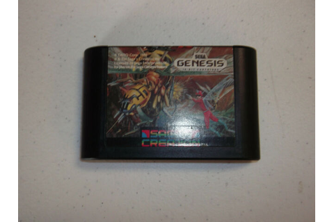 Insector X Game for Sega Genesis - Cartridge Only | eBay