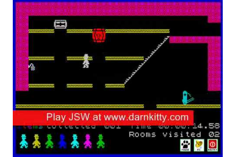 Jet Set Willy Complete Walkthrough - YouTube