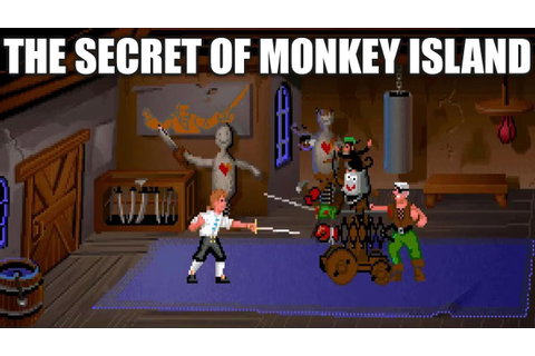 THE SECRET OF MONKEY ISLAND Adventure Game Gameplay ...