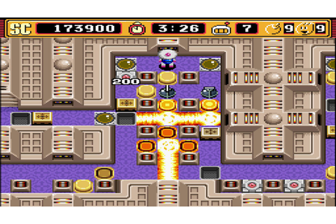 Super Bomberman 2: Normal Game: Level 5-1 to 5-3 - YouTube