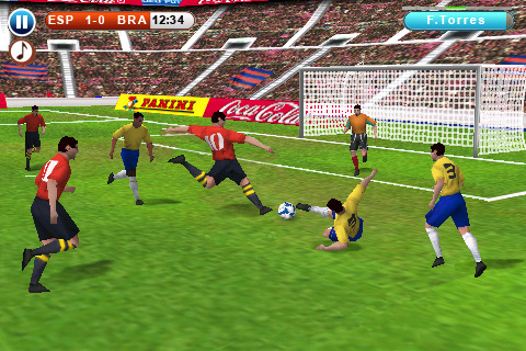 Real Soccer 2010 Free App for iPad iPhone Games