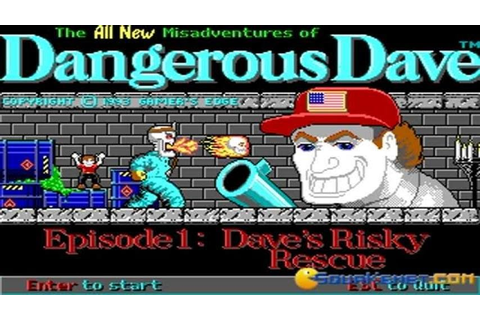 Dangerous Dave 3 - Dave's Risky Rescue gameplay (PC Game ...