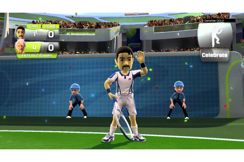 Kinect Sports - Season Two - Tennis - Gameplay - HD - YouTube
