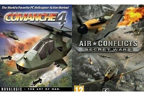 Comanche 4 & air conflicts secret wars new&sealed | eBay