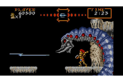 Super Ghouls 'n Ghosts (GBA / Game Boy Advance) Screenshots