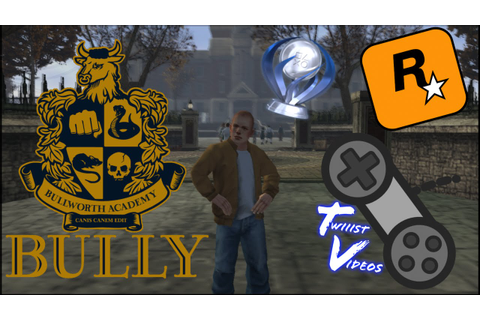 Bully/Canis Canem Edit | Released On PS4! - YouTube