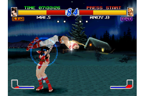 Fatal Fury: Wild Ambition Screenshots for PlayStation ...