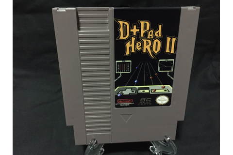 D Pad Hero 2 Nintendo NES Game