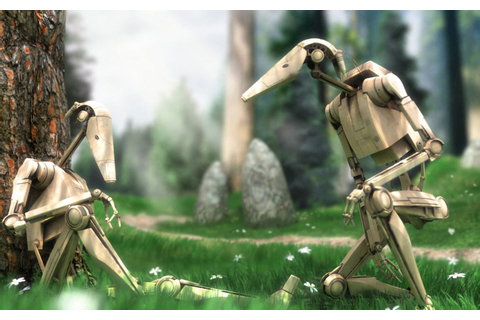 Battle Droids - Star Wars Wallpaper