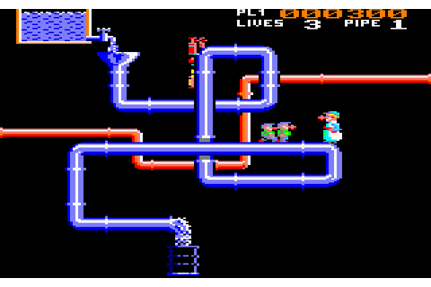 Super Pipeline 2 (1985) by Task Set Amstrad CPC game