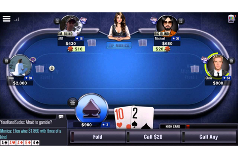 World Series of Poker – WSOP - Mobile Game - Gameplay ...
