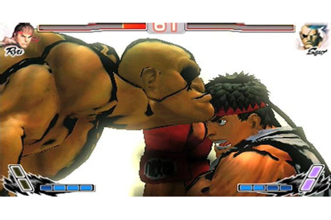Super Street Fighter IV 3D Edition Gameplay