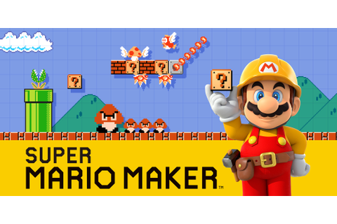 Super Mario Maker | Wii U | Games | Nintendo