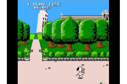 Obscure Games - Snoopy's Silly Sports Spectacular - YouTube