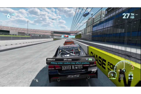 NASCAR The Game 2013 DLC Dover Race Kurt Busch - YouTube