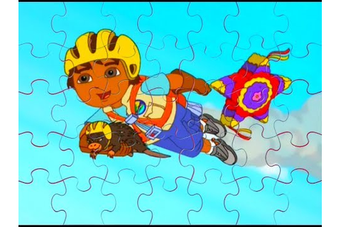 GO, DIEGO, GO! New Animated Game 3X Puzzle Game ...