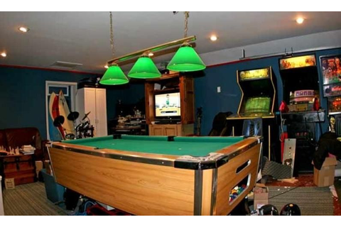 Arcade Man Cave ideas? Very Retro | Billares, Las vegas ...