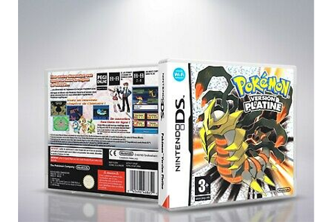 Pokemon version Platine - DS - Replacement - Cover/Case ...