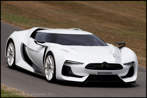 The World of Otomotif: Citroen GT Concept Futuristic ...