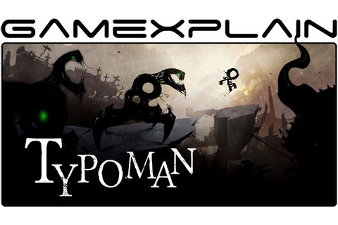 Typoman - Game & Watch (Wii U) - YouTube