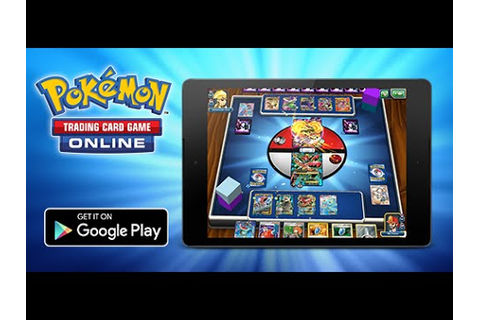 Play the Pokémon TCG Online on Android Tablets - YouTube