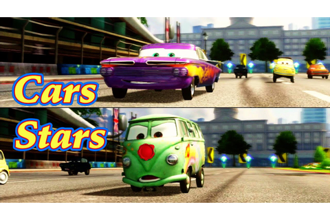 Cars 2: Game Play - Ramone VS Fillmore - Race on ...
