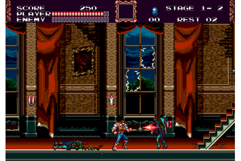 Castlevania - The New Generation (Europe) (Beta) ROM