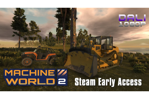 Machine World 2 | Steam Early Access | First Look (with ...