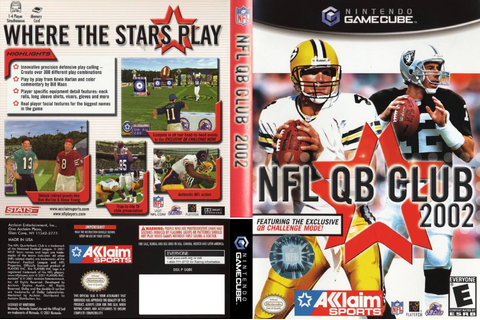 GQBE51 - NFL Quarterback Club 2002