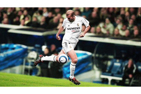 Zinedine Zidane - When Football Becomes Art - YouTube