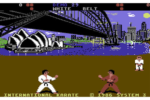 The Games We Played – International Karate (C64) | OhGizmo!