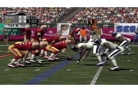 ESPN NFL 2K5 1080p HD PCSX2 - YouTube
