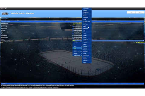 Eastside Hockey Manager - Setting up your game - NHL - YouTube