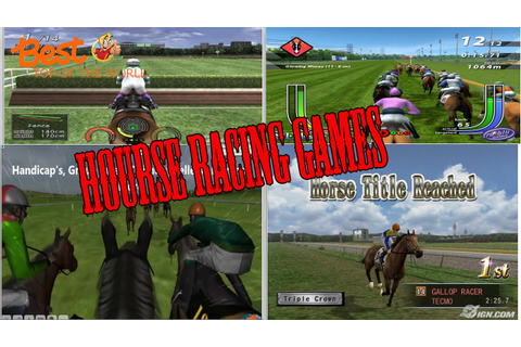 Best Top 10 Horse Racing Games of All Time - YouTube