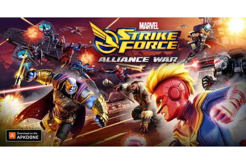 MARVEL Strike Force MOD APK 3.6.2 (Increase Energy) for ...