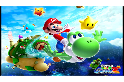 Super Mario Galaxy 2 - World S Music (In-Game) - YouTube