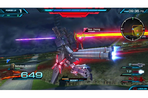 Mobile Suit Gundam Extreme VS-Force - Screenshot-Galerie ...