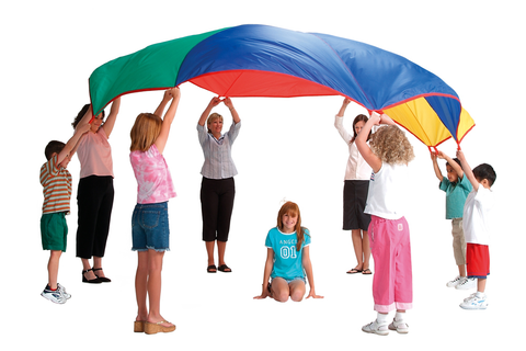 Children of the 90s: Gym Class Parachute Day