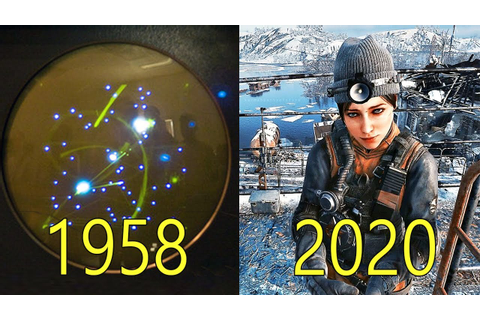Evolution of Video Game Graphics 1958-2020 (4K 60FPS ...