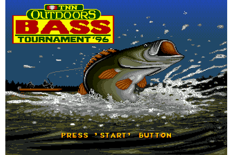 TNN Outdoors Bass Tournament '96 (1996) by ASCII Mega ...